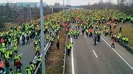 آمارهای مربوط به تظاهرات جلیقه زردها در فرانسه / 84 هزار نفر شرکت کردند