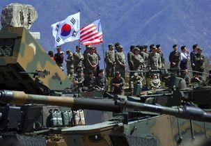 رزمایش نظامی مشترک آمریکا و کره جنوبی لغو شد