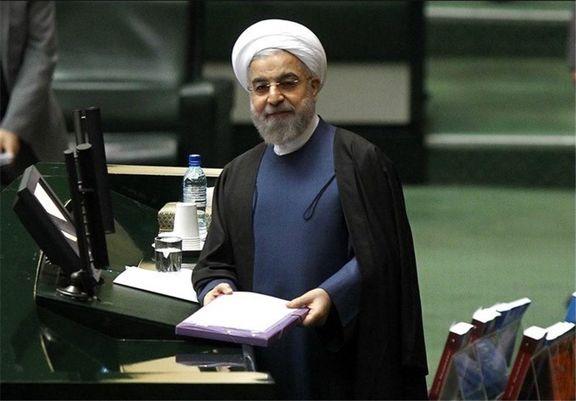 رئیس جمهور ایران  25 آذر برای دفاع از بودجه به مجلس می رود