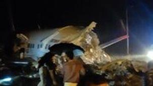 حادثه برای یک هواپیمای مسافربری هند