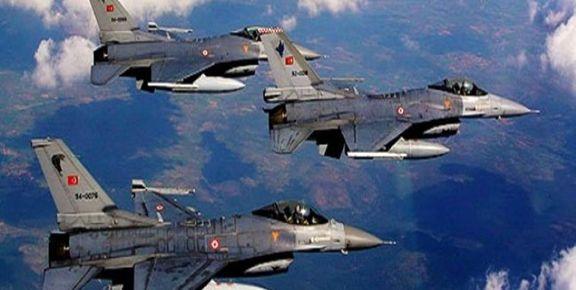 جنگندههای ترکیه به گذرگاه مرزی در سوریه حمله کردند