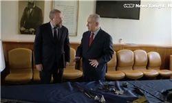 نتانیاهو: یک پهپاد ایرانی در فلسطین اشغالی ساقط کردیم