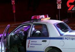 تعقیب و گریز خودروی سرقتی توسط پلیس + فیلم