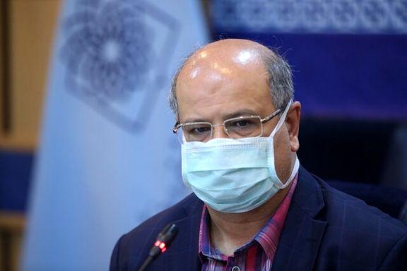 زالی: بستری بیش از ۹۰۰۰ بیمار کرونایی در تهران