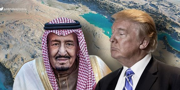 ترامپ با سوء استفاده از اختلافات ریاض و تهران خزانه خود پر کرده است
