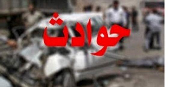 تصادف خودروی نیروی انتظامی با پراید و پیکان بار /4 نفر کشته شد