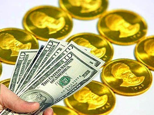 قیمت طلا افزایشی و دلار کاهشی