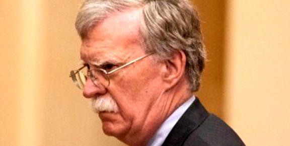 بولتون: تحریمهای بیشتری در طی زمان آتی  علیه ایران اعمال می کنیم