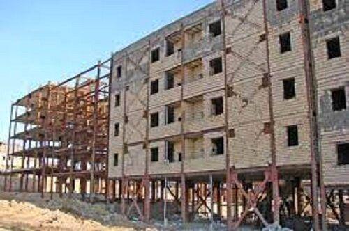 توقف ساخت مسکن ملی به دلیل کمبود سیمان و فولاد