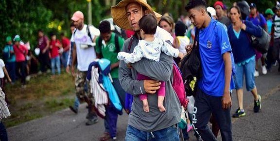 ترامپ ورود مهاجران از مرز مکزیک به آمریکا را ممنوع  کرد