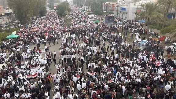 طرفداری شهروندان عراقی از الکاظمی برای حمله به گروه های حزب الله