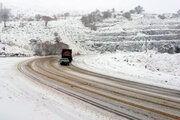 ادامه بارش برف و باران در جادههای 9 استان کشور