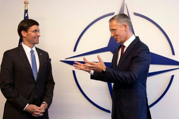 دبیرکل ناتو و وزیر دفاع آمریکا با یکدیگر درباره حادثه تروریستی عراق گفتگو کردند