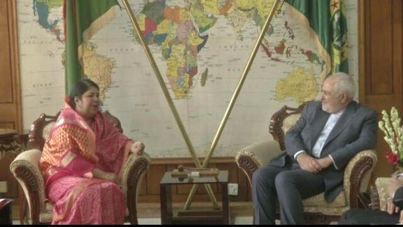 محمدجواد ظریف با رئیس پارلمان بنگلادش دیدار و گفتگو کرد