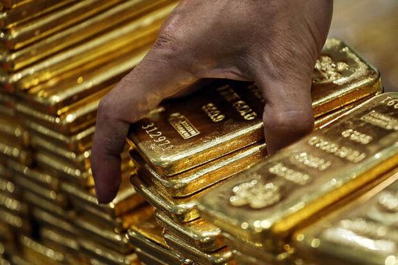 افزایش قیمت طلای جهانی به دنبال کاهش ارزش دلار
