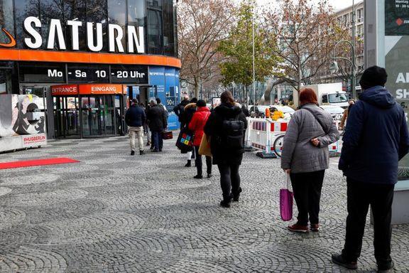افت شدید 9.6 درصدی شاخص خردهفروشی آلمان به دلیل قرنطینه