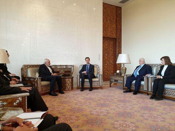 وزیر امور خارجه کشورمان با بشار اسد در دمشق دیدار کرد