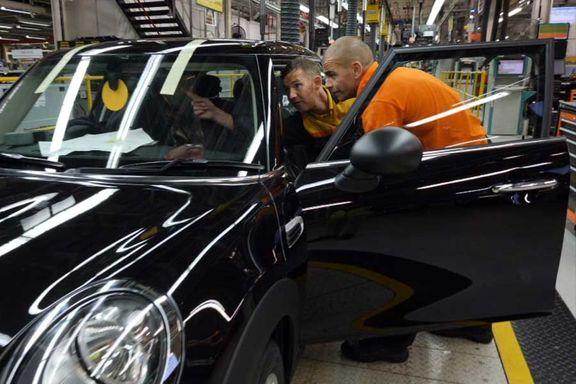 بدترین عملکرد ماهانه صنعت خودروی انگلیس طی 65 سال گذشته در ماه جولای رقم خورد
