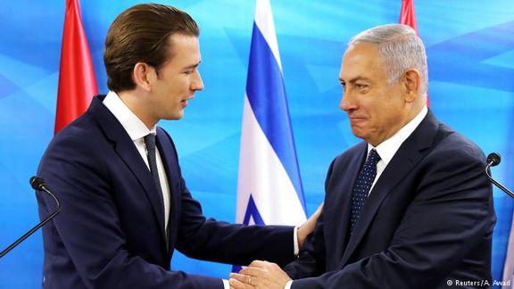 صدراعظم اتریش تمام قد از برجام دفاع کرد / اسرائیل همچنان بر روی نقشه ها خواهد ماند