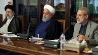 جلسه شورای عالی هماهنگی اقتصادی با حضور رؤسای قوای سهگانه برگزار شد