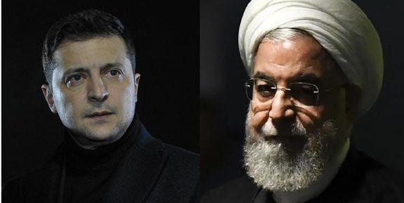 گفتگوی تلفنی حسن روحانی با رئیس جمهور اوکراین