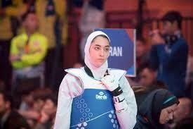 کیمیا علیزاده پرچمدار کاروان ورزشی ایران
