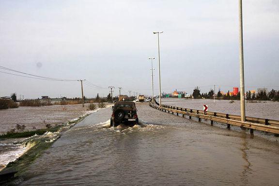 آب در مناطق سیل زده استان گلستان دوباره بالا آمد