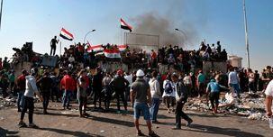 برگزاری اعتراضات گروههایی از مردم عراق