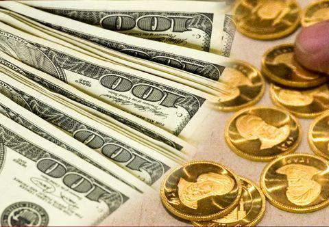سکه به 4 میلیون و 406 هزار تومان رسید/  دلار 160 تومان افزایش یافت