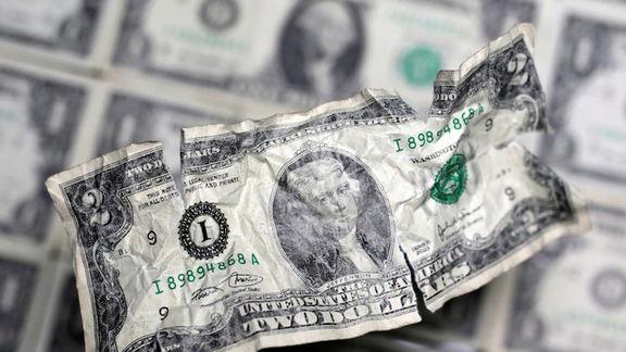 کاهش دلار ادامه دار شد/با توجه به معاملات بازار آمریکا شاخص دلار کاهشی شد