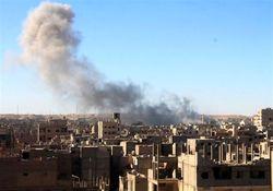 ائتلاف نظامی آمریکا به دیرالزور سوریه حمله کرد