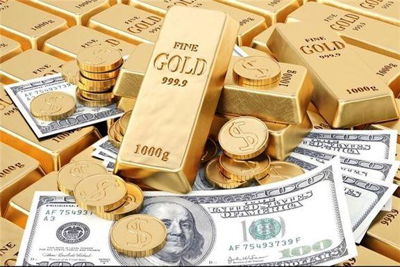 سقوط قیمت طلا و ارز در واکنش به معاملات بازار دوم ارز
