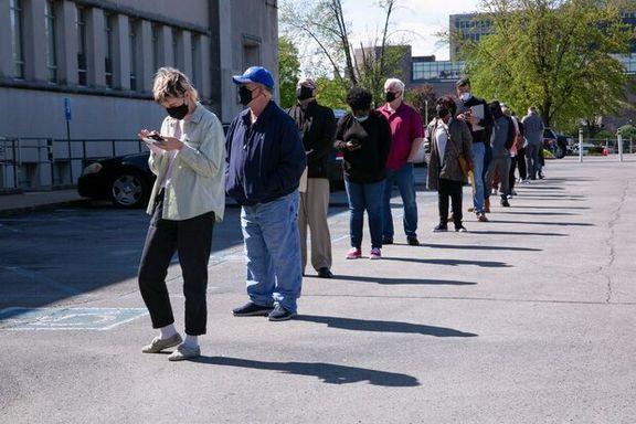 ۳۲۶ هزار آمریکایی برای اولین بار درخواست حمایت از بیکاری دادند