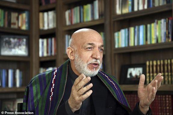 انتقاد تند رئیس جمهور سابق افغانستان نسبت به گفته های رئیس جمهور آمریکا