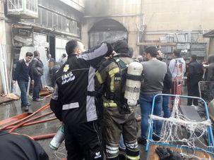جریان آتش سوزی بازار تهران چیست؟