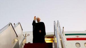 حسن روحانی برای شرکت در مجمع عمومی سازمان ملل تهران را به مقصد نیویورک ترک کرد