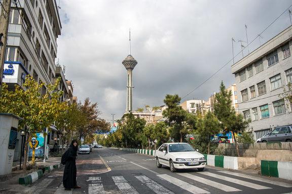 هوای تهران طی دو روز آینده 5 درجه کاهش مییابد