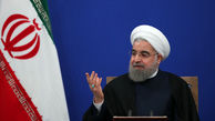حسن روحانی با استعفای ظریف مخالفت کرد