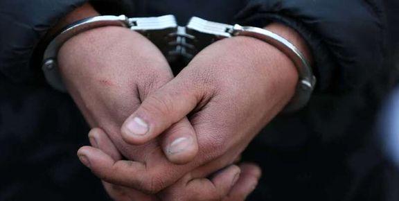 فردی که اقدام به آزار یک قلاده سگ کرده بود دستگیر شد
