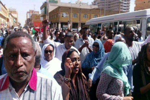 حمله شدید پلیس سودان علیه معترضین