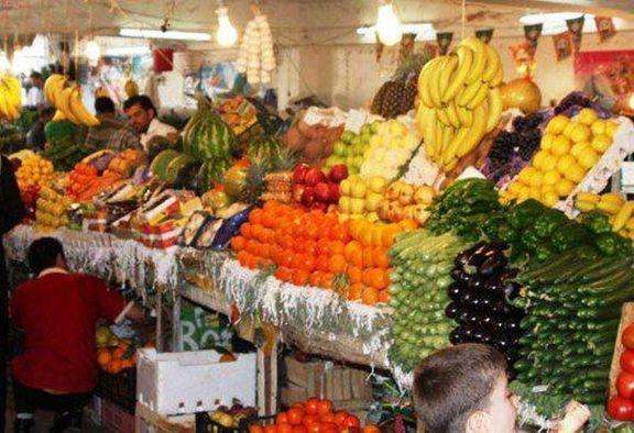 تازه ترین تغییرات قیمت میوه و صیفی در بازار / خیار و گوجه فرنگی 15 درصد افزایش یافت