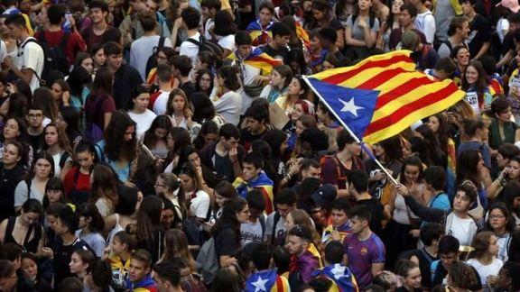 کاتالونیا باعث نگرانی شهروندان اسپانیا شد