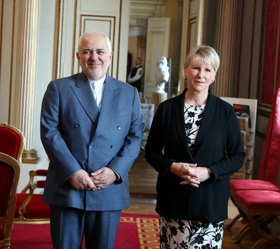 ظریف با وزیر خارجه سوئد ملاقات کرد
