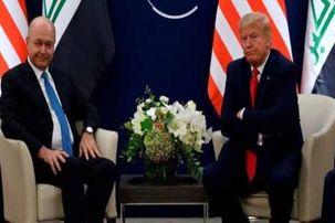 واکنش  ائتلاف الفتح به دیدار برهم صالح و ترامپ در حاشیه نشست داووس