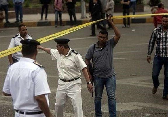 انفجار تروریستی مقابل کلیسا در قاهره / یک افسر مصر کشته و دو پلیس زخمی شدند