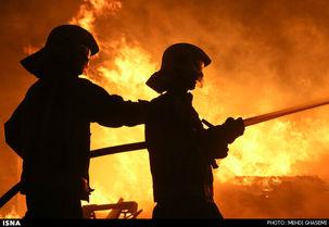 آتش سوزی جدید در تهران/یک فست فود در تهران سوخت