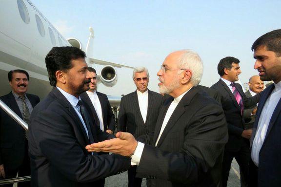 ظریف پس از دیدار با مقامات پاکستان به  تهران  برگشت