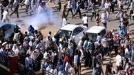 تجمع صدها نفر از معترضان سودانی در کرانه رود نیل