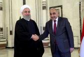 دیدار نخستوزیر عراق با روحانی