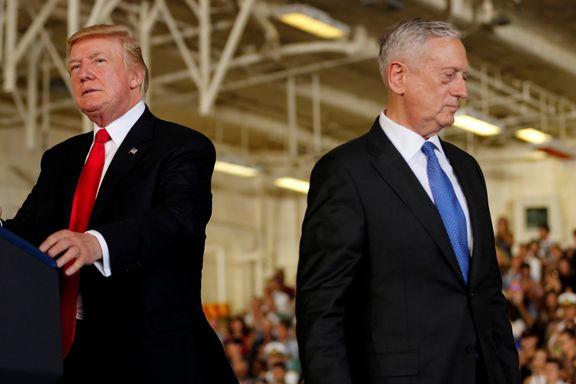 بالا گرفتن اختلافات دونالد ترامپ و جیمز متیس / «سگ دیوانه» از کابینه ترامپ اخراج می شود؟